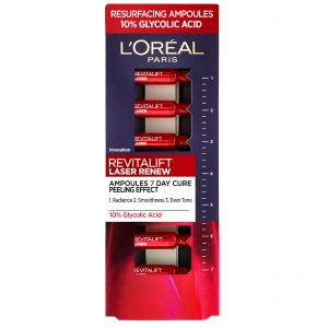 L'Oreal Revitalift Laser Renew 7 Day Cure Ampoules 10% Glycolic Acid