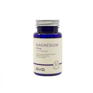 Aya Magnesium 150mg With Vitamin B6 30 Tablets
