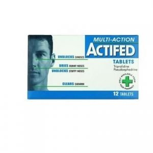 Acifed Tablets 12 Pack