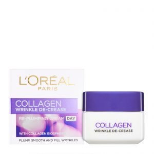 L'Oreal Collagen Wrinkle De- Crease Re- Plumping Cream Day