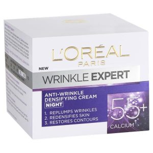 L'Oreal Wrinkle Expert 55+ Anti Wrinkle Densifying Night Cream 50ml