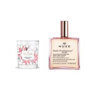 Nuxe Huile Prodigieuse Florale Dry Oil & Florale Scented Candle