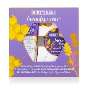 Burt's Bees Lavender And Honey Hand And Lip Duo