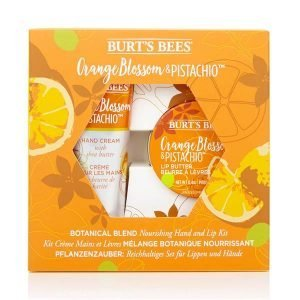 Burt's Bees Orange Blossom And Pistachio Hand And Lip Duo