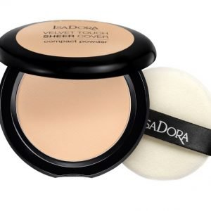 IsaDora Velvet Touch Sheer Cover Compact Powder – 41 Neutral Ivory