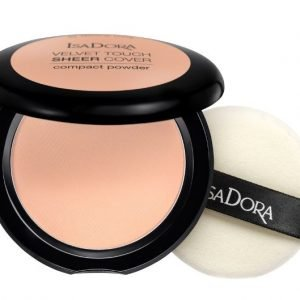 IsaDora Velvet Touch Sheer Cover Compact Powder – 43 Cool Sand