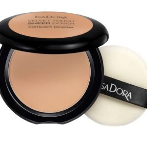 IsaDora Velvet Touch Sheer Cover Compact Powder – 47 Warm Tan