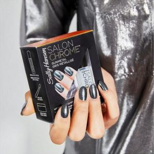 Sally Hansen Salon Chrome GunMetal Set