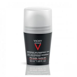 Vichy Homme Extreme Control Anti-Perspirant Roll On 72hr 50ml