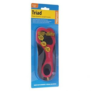 ProFoot Triad Women's Orthotic Insole 1 Pair