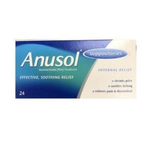 Anusol Suppositories – 24 Pack