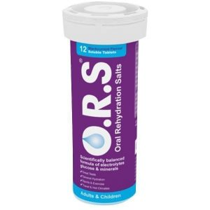 O.R.S Oral Rehydration Salts – Blackcurrant 12