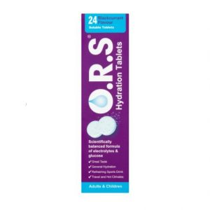 O.R.S Oral Rehydration Salts – Blackcurrant 24
