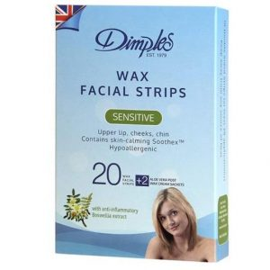 Dimples Wax Face Strips