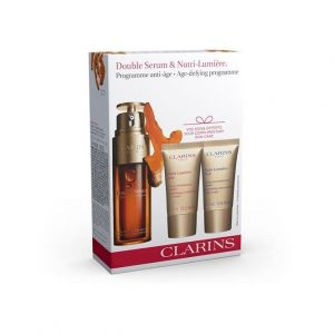 Clarins Double Serum & Nutri Lumiere Age Defying Programme