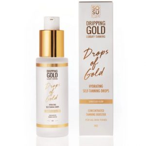SOSU By SJ Dripping Gold Drops Of Gold Hydrating Self Tanning Drops 30ml
