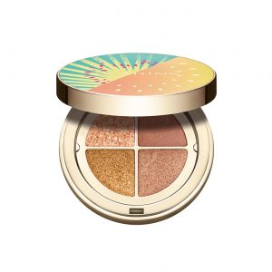 Clarins Frozen Summer Collection 4 Colour Eye Palette – Golden Hour Graduation