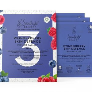 Seoulista Wonderberry Skin Defence Instant Facial – 3 Pack