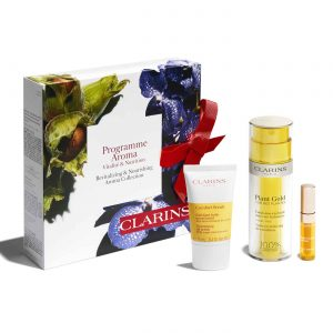 Clarins Plant Gold Revitalizing & Nourishing Aroma Collection