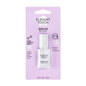 Elegant Touch Quick Touch Nail Glue Brush On