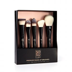 SoSu Premium Make- Up Brush The Face Collection