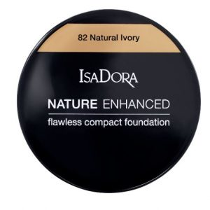 IsaDora Nature Enhanced Flawless Compact Foundation – 82 Natural Ivory
