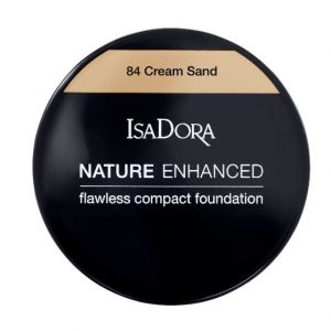 IsaDora Nature Enhanced Flawless Compact Foundation – 84 Cream Sand
