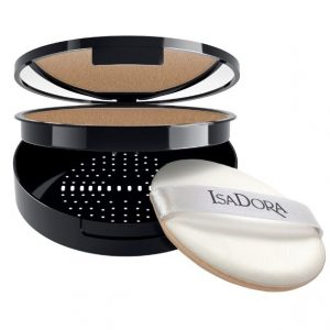 IsaDora Nature Enhanced Flawless Compact Foundation – 88 Almond